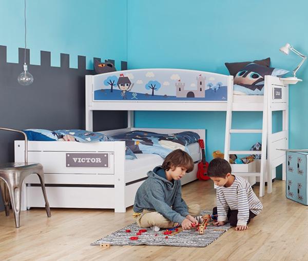 Кровати для двух однополых детей - 1