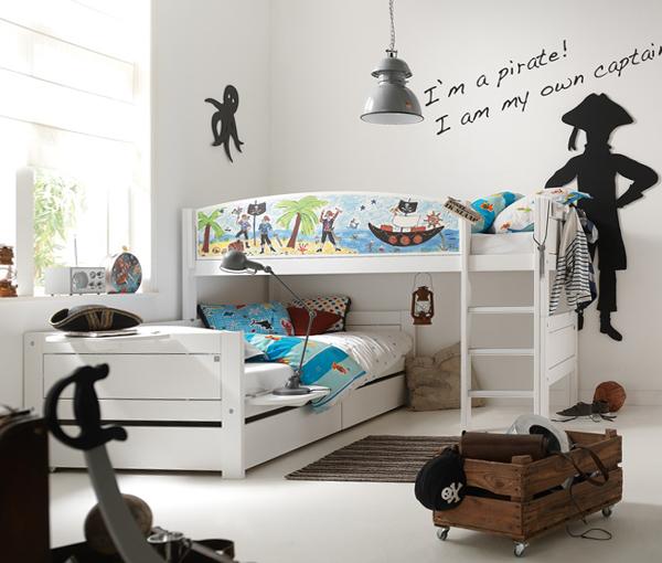 Кровати для двух однополых детей - 3