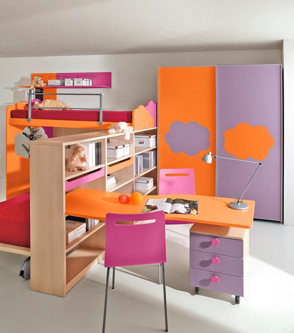 Кровати для двух разнополых детей - 1
