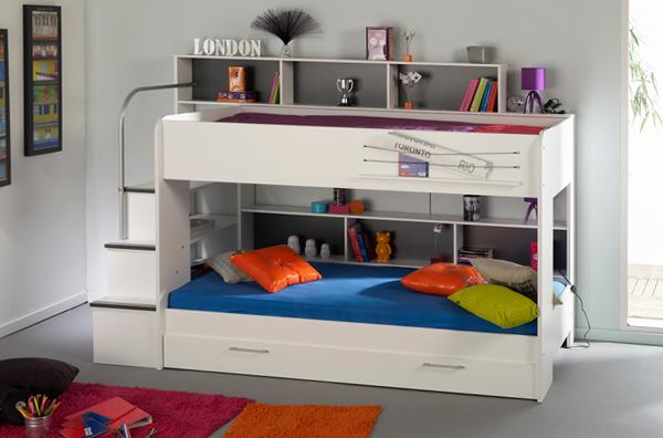 Детская кровать с встроенным диваном - 5