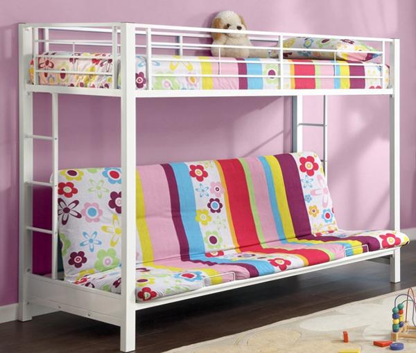 Детская кровать с встроенным диваном - 6