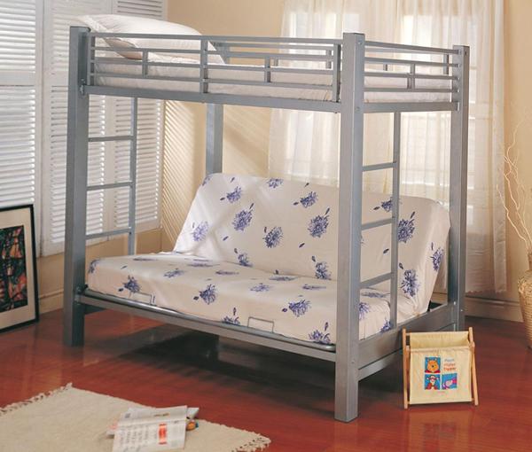 Детская кровать с встроенным диваном - 7