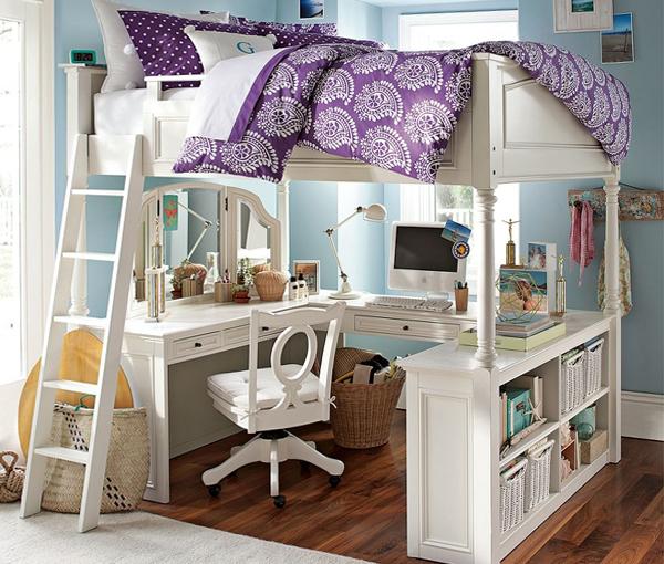 Двухъярусная кровать с письменным столом - 2