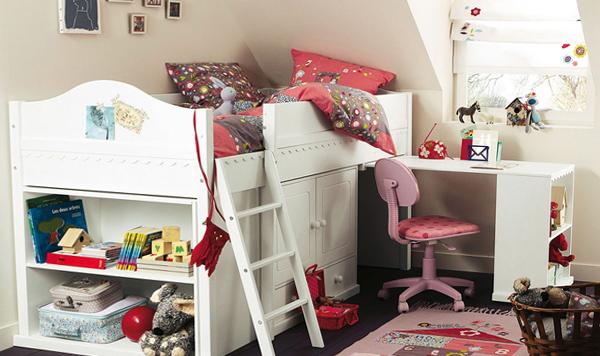 Двухъярусная кровать с письменным столом - 5