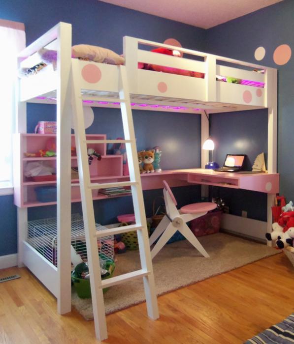 Кровать+стол - 1