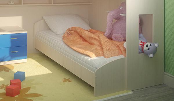 Кроватка от 3-х до 5-ти лет - 3
