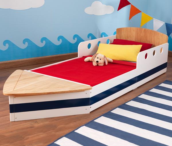 Кровать с твердыми бортиками - 4