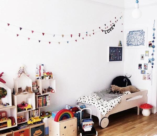 Детская кровать с бортами - 3