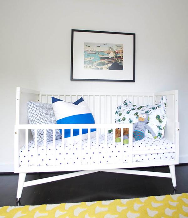 Классическая кроватка с бортиками - 1