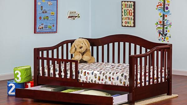 Классическая кроватка с бортиками - 3