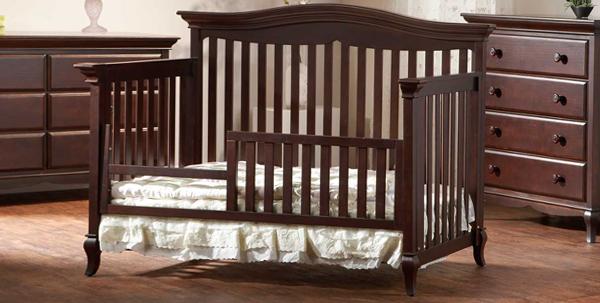 Развдвижная кроватка с бортиками - 2
