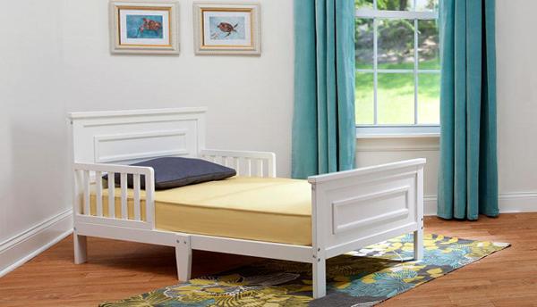 Кровать для трехлетнего ребенка с бортами - 1
