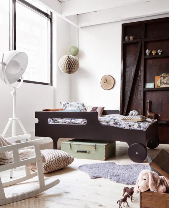 Кровать для трехлетнего ребенка с бортами - 3
