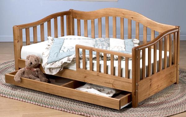 Развдвижная кроватка с бортиками - 3