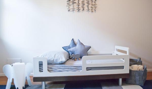 Кровать для трехлетнего ребенка с бортами - 5