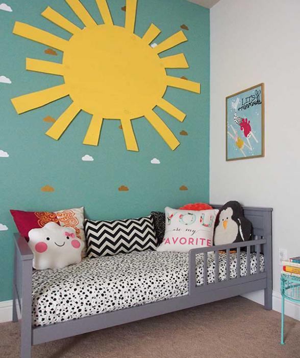 Кровать для трехлетнего ребенка с бортами - 6