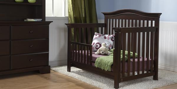 Развдвижная кроватка с бортиками - 4