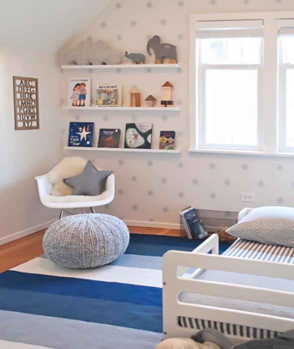 Кровать для трехлетнего ребенка с бортами - 7
