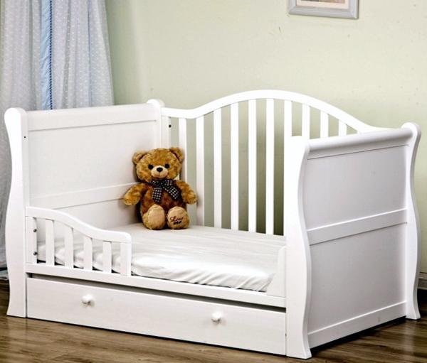 Детская кровать с выдвижными ящиками - 4