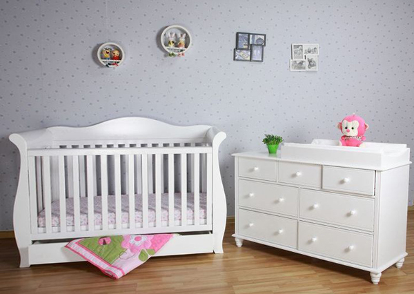 Детская кровать с выдвижными ящиками - 5