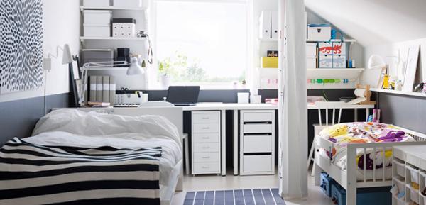 Детская кроватка в спальне родителей - 3