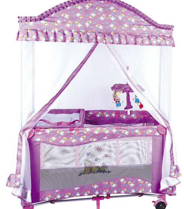 Детский манеж-кровать 2