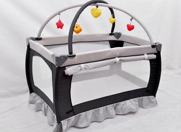Детский манеж-кровать 4