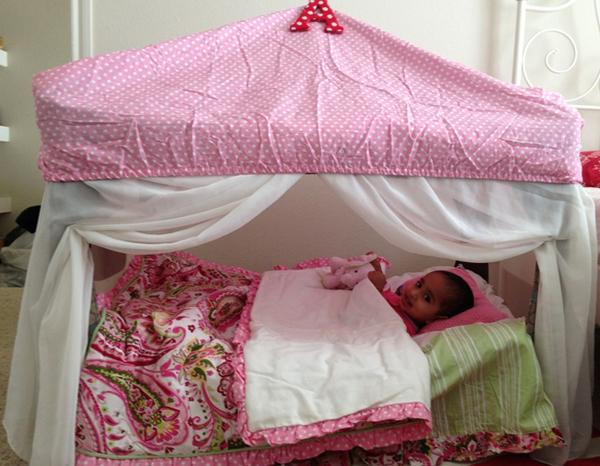 Детский манеж-кровать 5