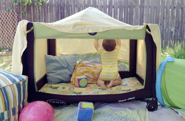 Детский манеж-кровать 7