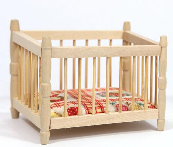 детский манеж деревянный