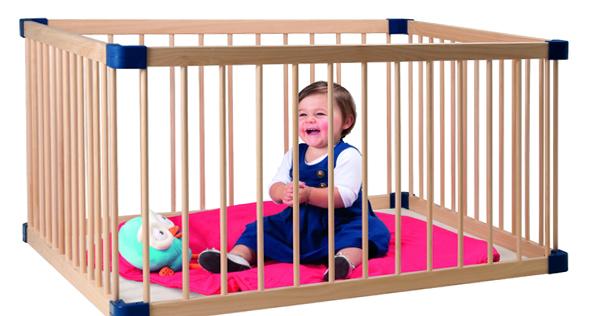 детский манеж деревянный 4