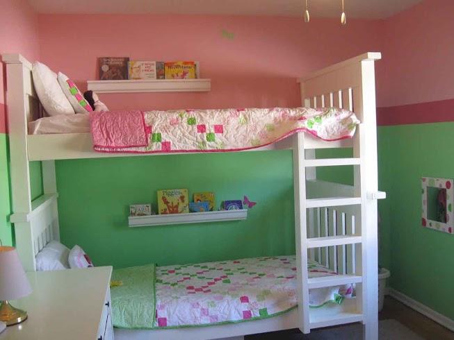 Зонирование комнаты при помощи разных цветовых схем 1