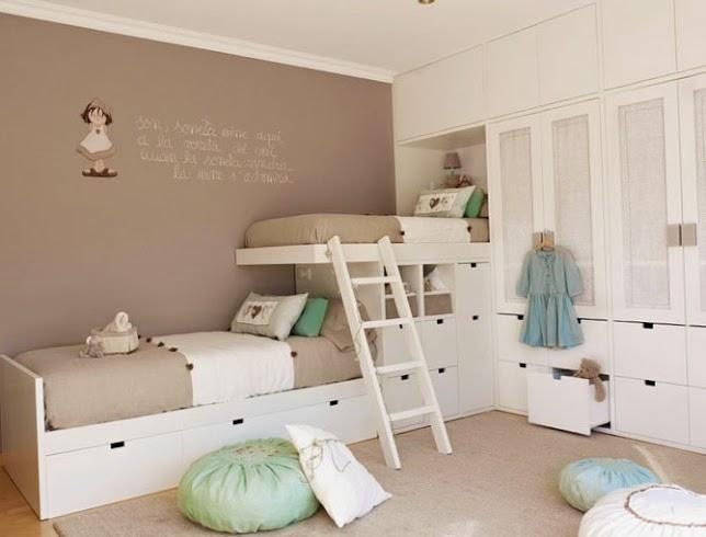 Зонирование комнаты при помощи разных цветовых схем 7