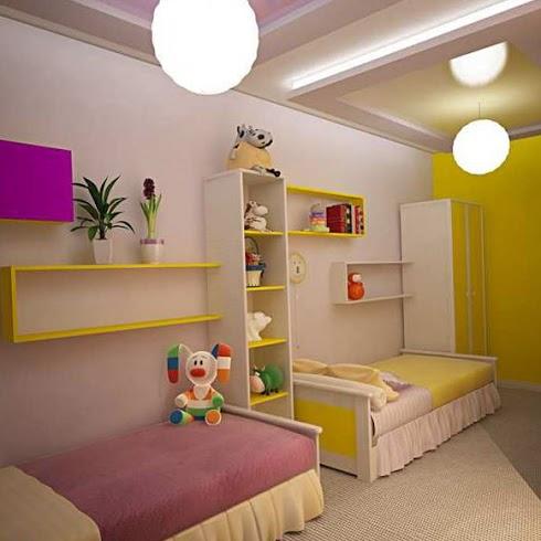 Зонирование комнаты при помощи разных цветовых схем 8