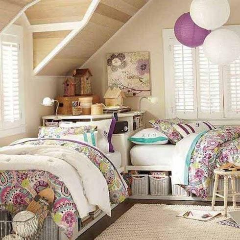Зонирование комнаты при помощи разных цветовых схем 9