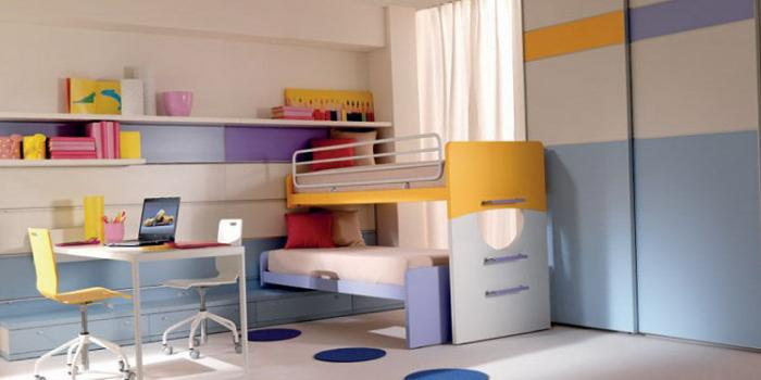 Зонирование комнаты при помощи разных цветовых схем 12