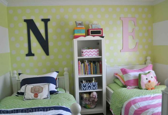 Зонирование комнаты при помощи разных цветовых схем 3