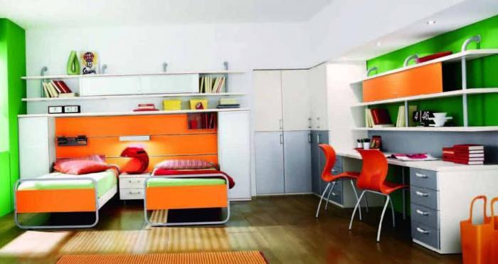 Дизайн большой детской 18 кв.м 12