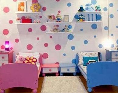 Зонирование комнаты при помощи разных цветовых схем 4