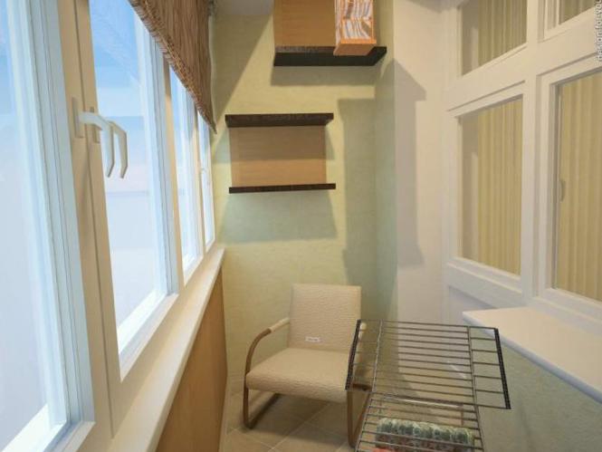 Интерьер балкона - 1