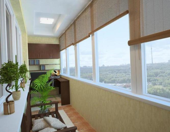 Интерьер балкона - 2
