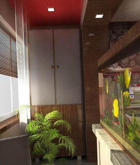 Интерьер балкона - 3