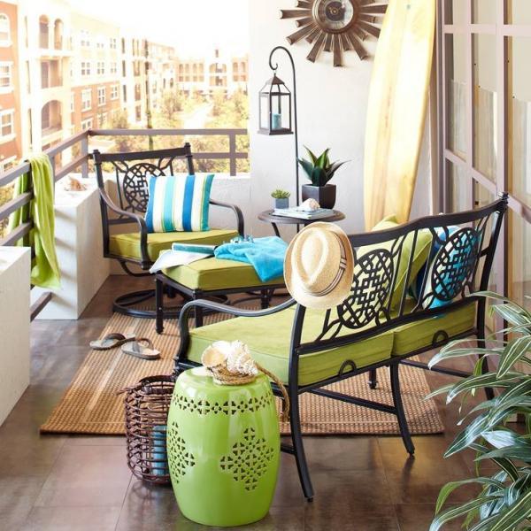 Фото дизайна балкона