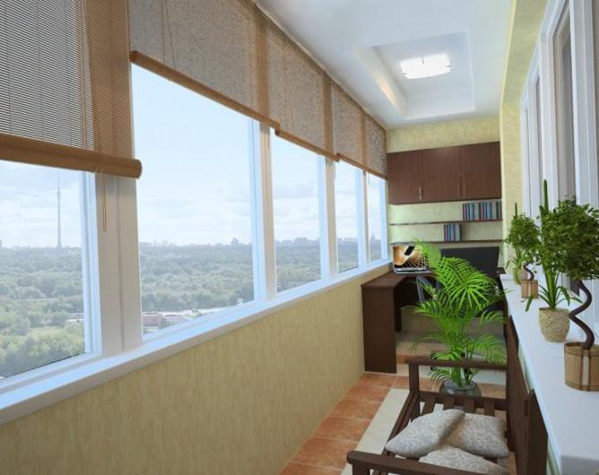 Интерьер балкона - 6