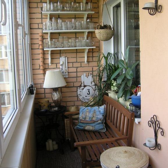 Интерьер балкона - 7