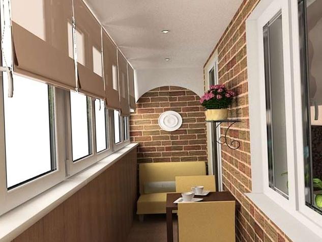 Интерьер балкона - 9
