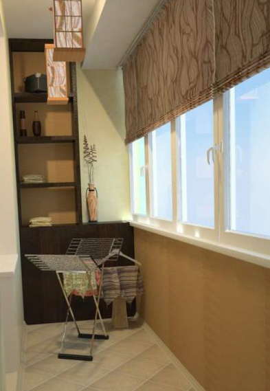 Интерьер балкона - 10
