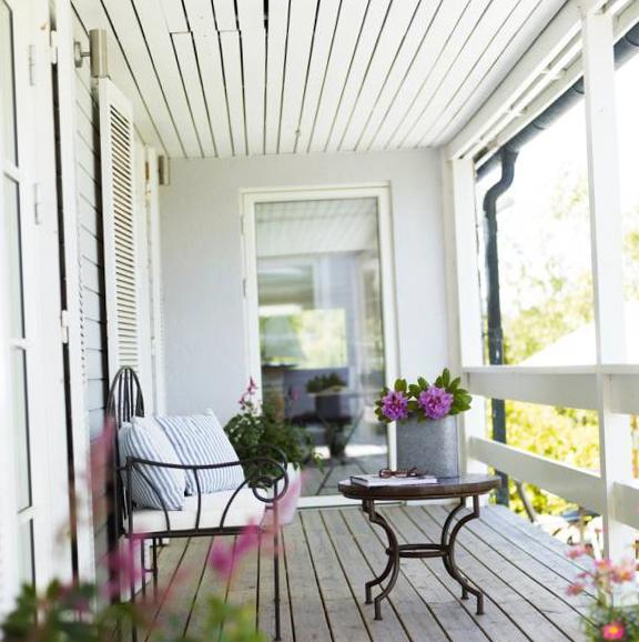 Интерьер балкона - 12