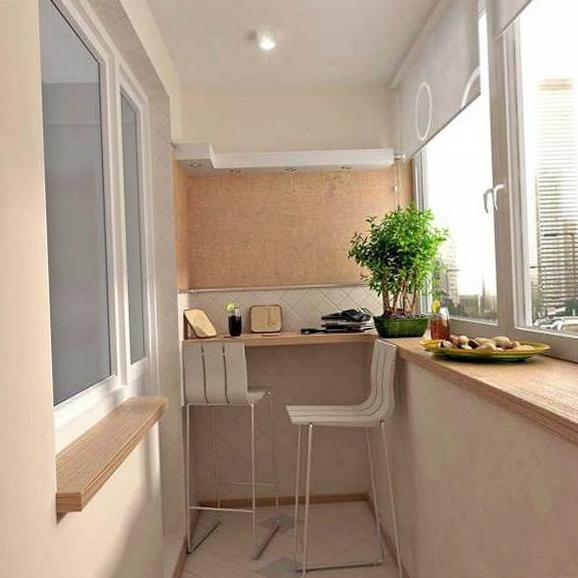 Интерьер балкона - 13