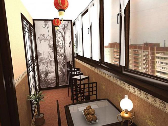 Интерьер балкона - 14